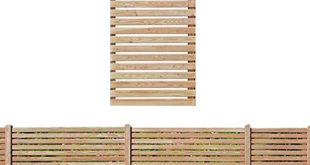 Gartenpirat Sichtschutzzaun 90x180 cm aus Laerchenholz Bausatz Zaunelement zum selber 310x165 - Gartenpirat Sichtschutzzaun 90x180 cm aus Lärchenholz Bausatz Zaunelement zum selber Bauen
