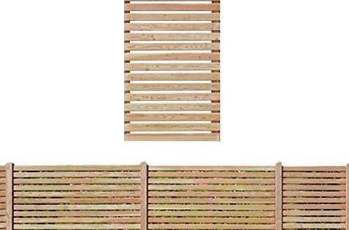 Gartenpirat Sichtschutzzaun 90x180 cm aus Laerchenholz Bausatz Zaunelement zum selber 500x330 - Gartenpirat Sichtschutzzaun 90x180 cm aus Lärchenholz Bausatz Zaunelement zum selber Bauen